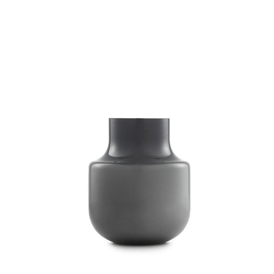 Vase noch 19 cm   Grau
