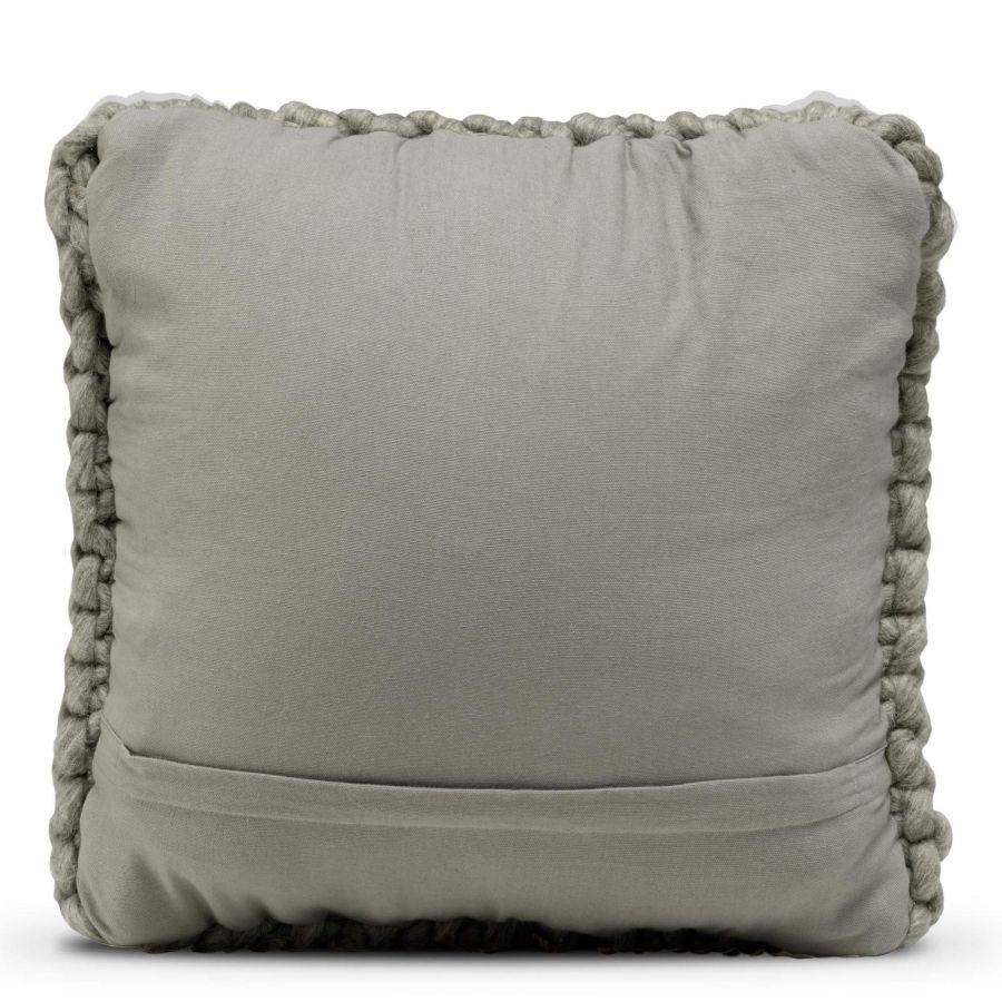 Cushion Cover Wool - 50 x 50 cm | Dark Grey