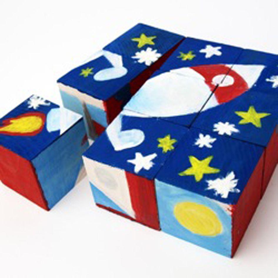 Design Your Own 9 Piece Block Puzzle