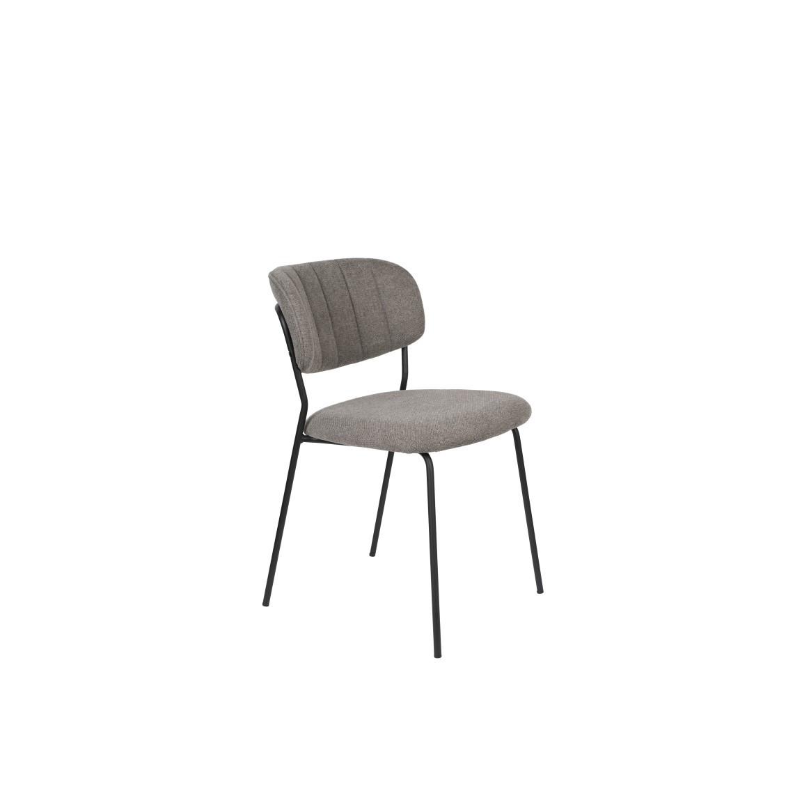 Stuhl Jolien | Grau