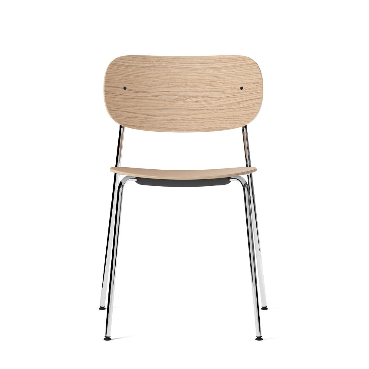 Dining Chair Co   Chrome & Oak