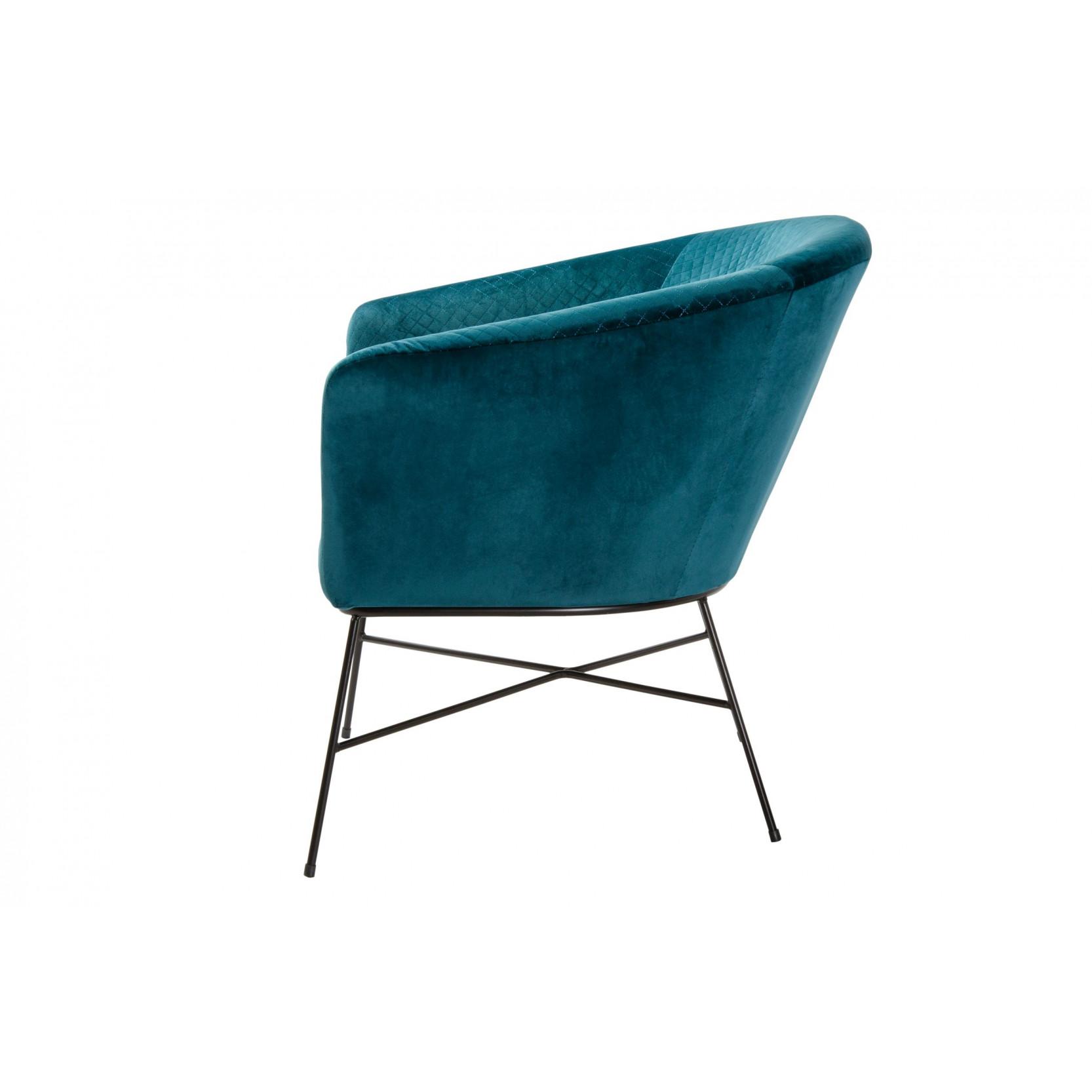 Lounge Chair Lady club   Blue