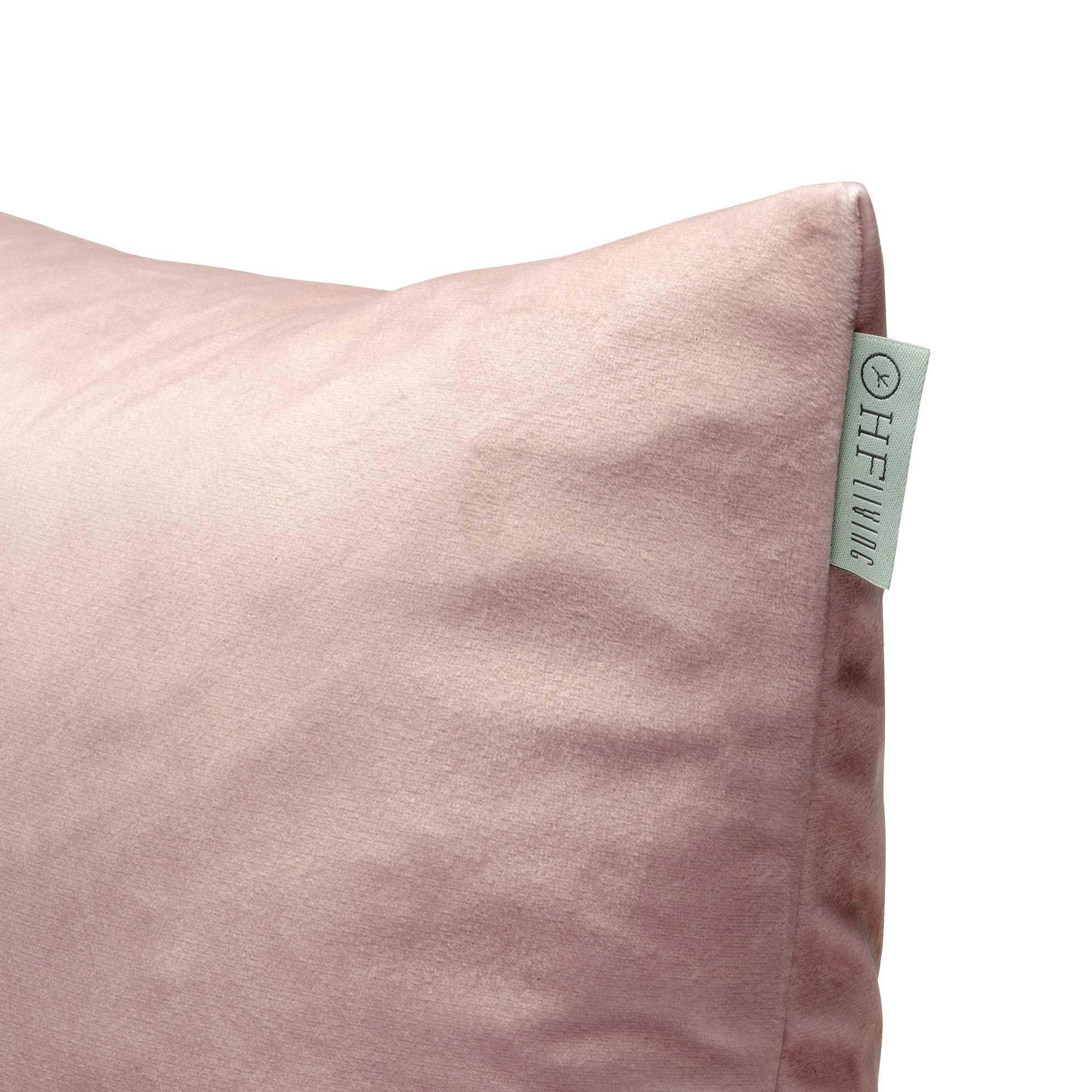 Kussensloop Fluweel Roze | 100% Polyester