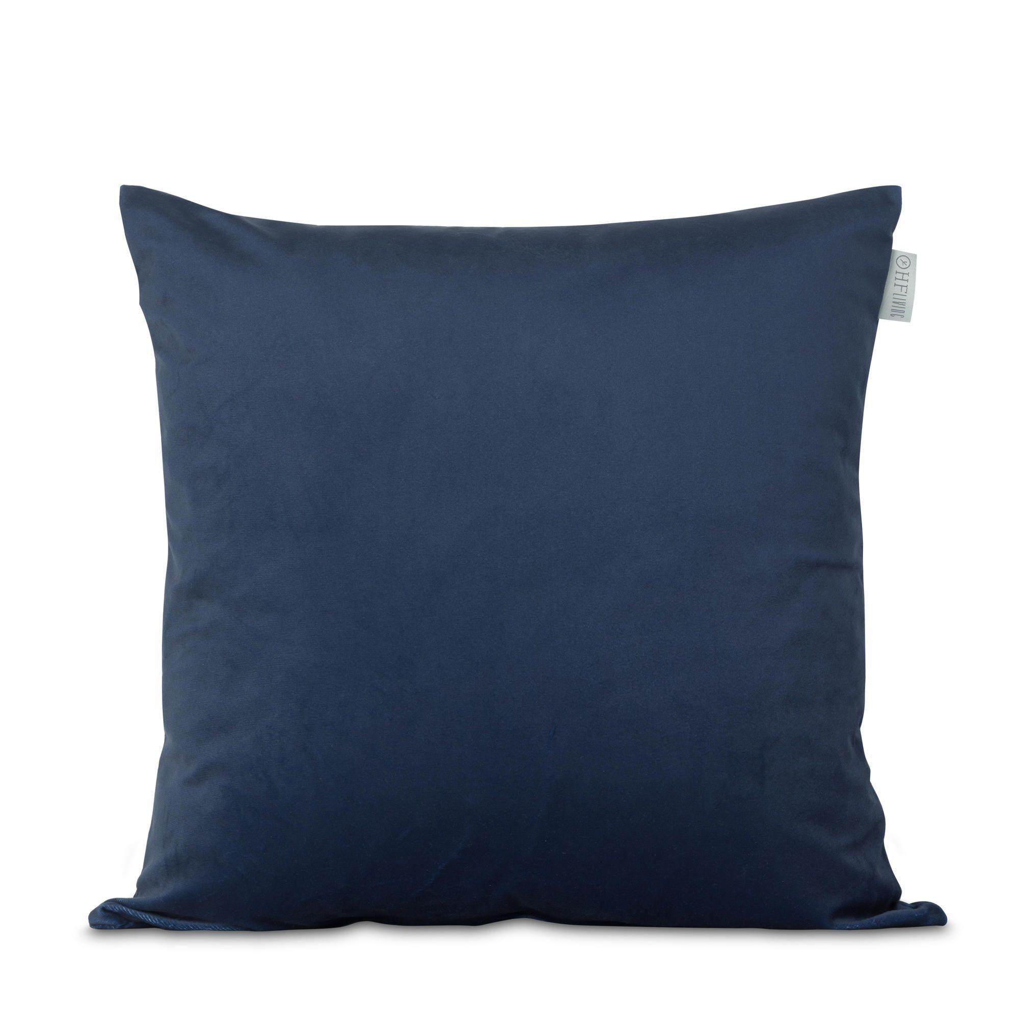 Kussensloop Fluweel Blauw | 100% Polyester