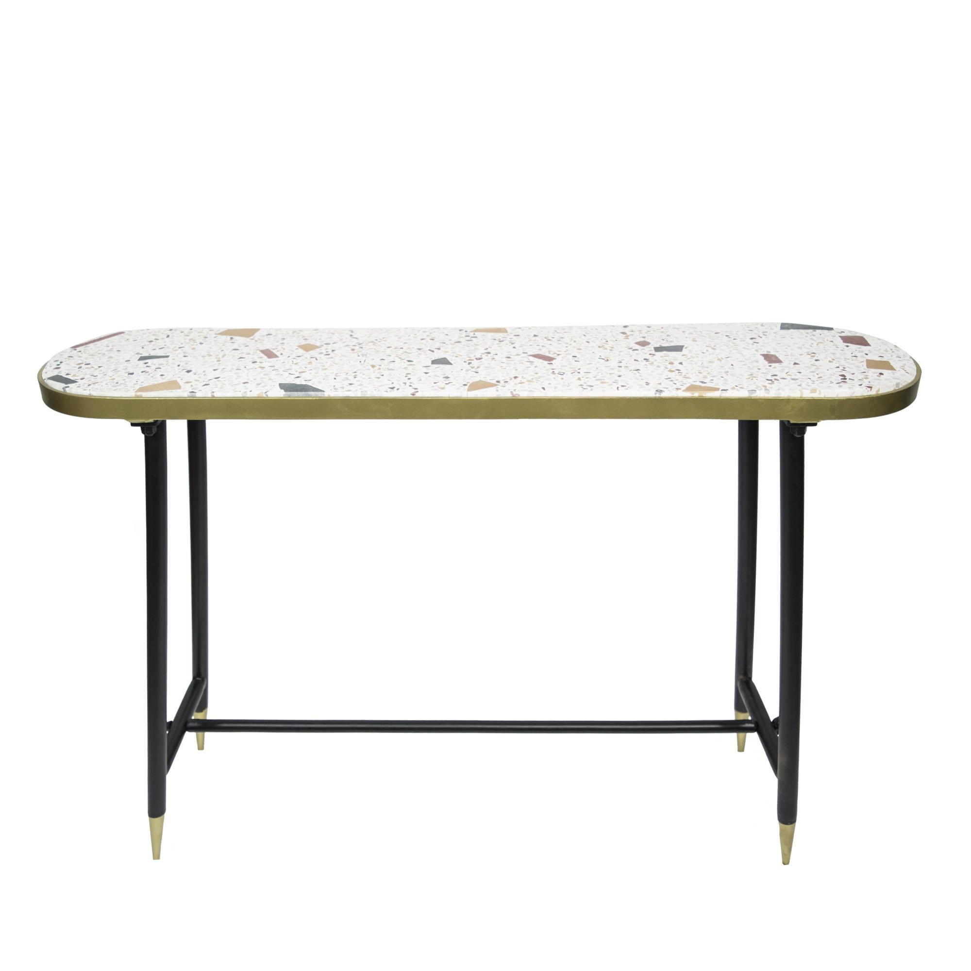 Genuine Console Table   Beige
