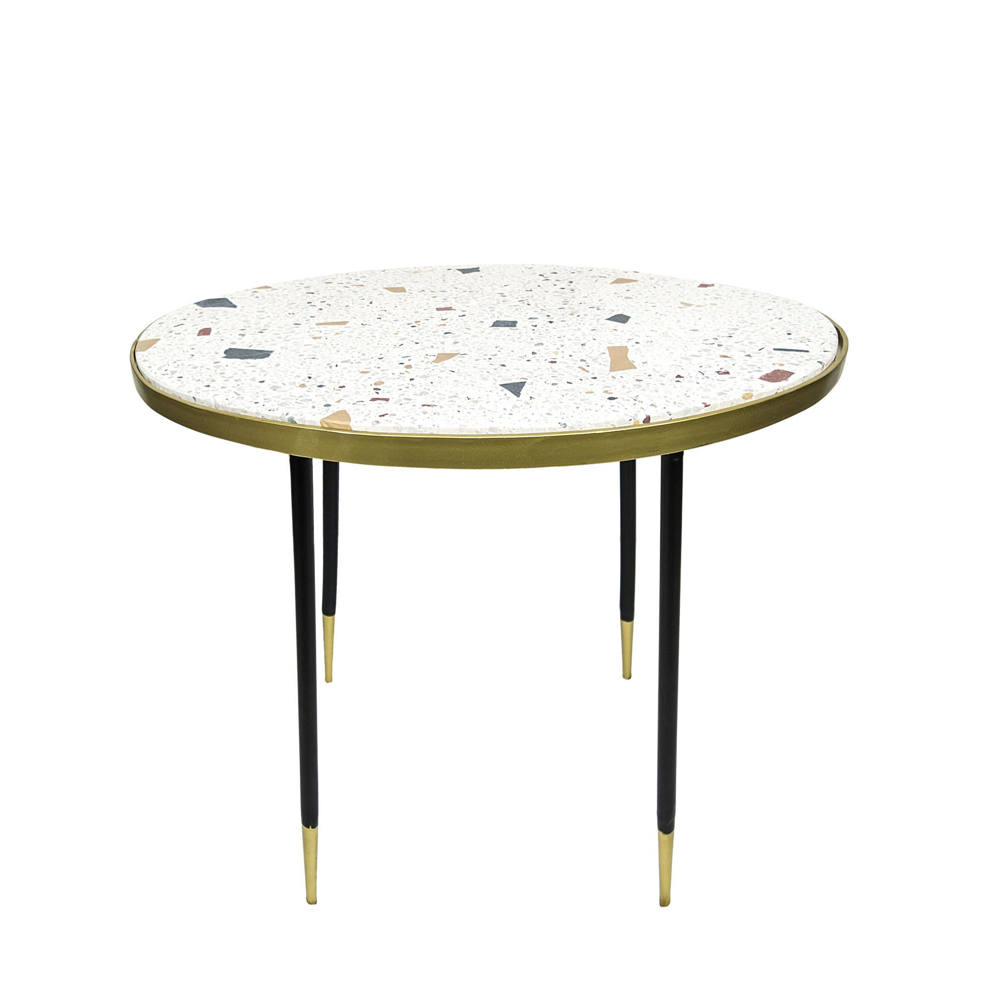 Genuine Side Table H 49 cm | Beige