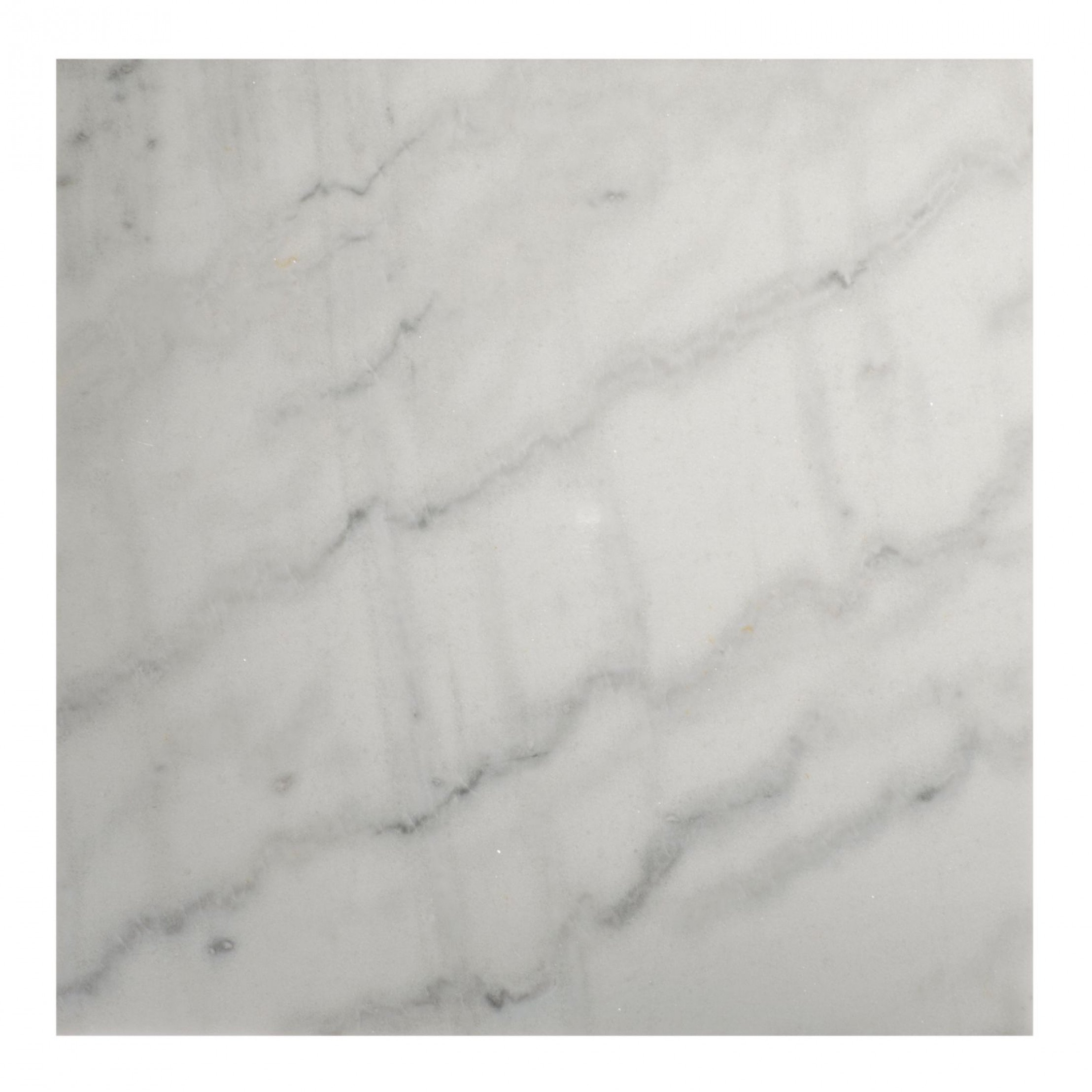 Marble Coffee Table Square 50 Accent Shiny | Gold