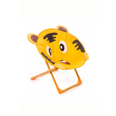 Kinderstuhl Linius Tiger | Oranje / Braun