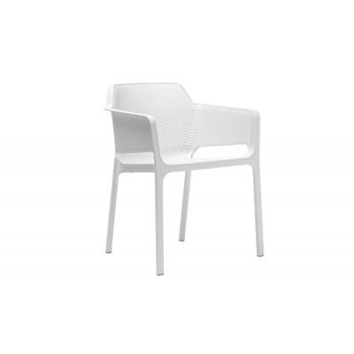Stapelbares Sessel Net | Weiß