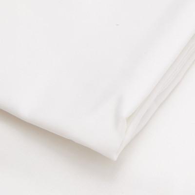 Spannbetttuch Baumwollsatin | Weiß