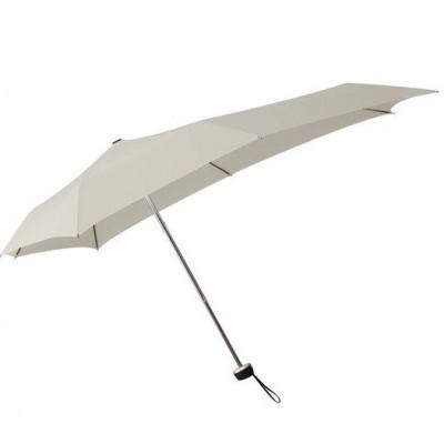 Senz Smart S Foldable Pocket Size Umbrella Stone Gray