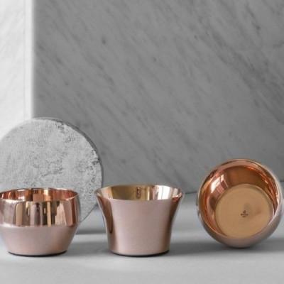 Candle Holder Kin (Set of 3)   Copper