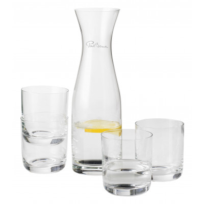 Karaffe mit 4 Gläsern Prestige