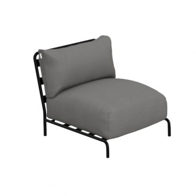 Sofa Brick Spice Module | Grau