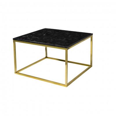 Beistelltisch Accent 75 x 75 cm | Gold