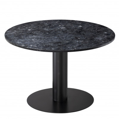 Esstisch Pepo Ø 105 cm | Schwarz