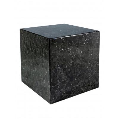 Sockel Labradorit H 40 cm | Schwarz
