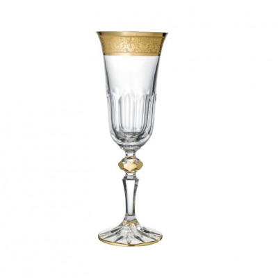Romantic Kristall-Champagnergläser| 2er-Set