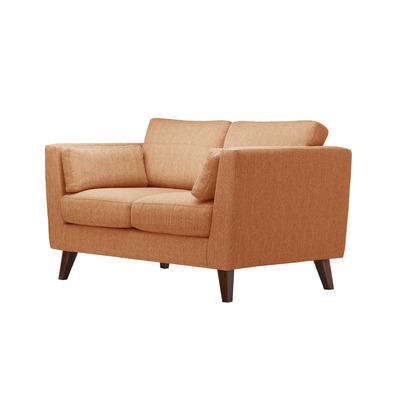 2-Sitzer Sofa Elisa I Orange