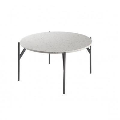 Air Terrazo-Tisch | ⌀ 85 cm