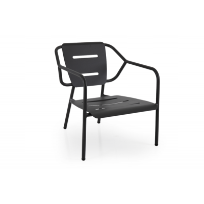 Outdoor-Sessel Minto | Anthrazit