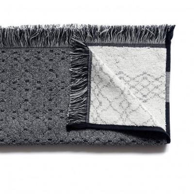Handtuch mit Muster | Grau gemischt