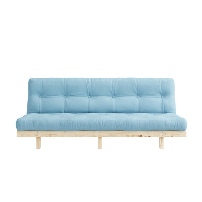 Sofa Bed Lean | Natural / Light Blue
