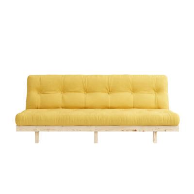 Sofa Bed Lean | Natural / Yellow