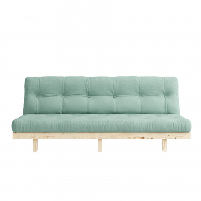 Sofa Bed Lean | Natural / Mint