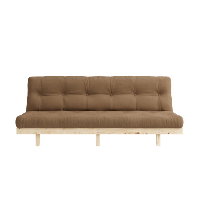Sofa Bed Lean | Natural / Mocca