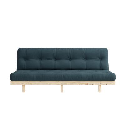 Sofa Bed Lean | Natural / Petrol Blue
