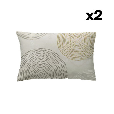 Set of 2 Pillow Covers 50 x 75 | Aimi