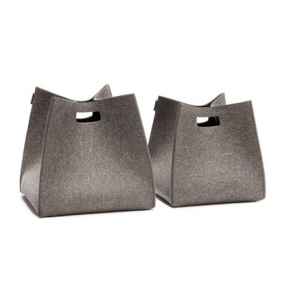 Tall Square Box - Anthracite