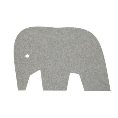Filzteppich - Elefant