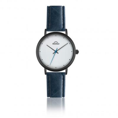 Männeruhr Elbrus Classic | Meerblau – Schwarz