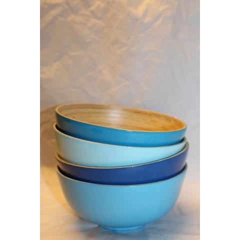 Bamboo Gunilla Bowl Ocean Blue
