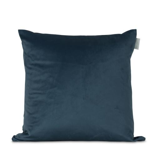 Kussensloop Fluweel Turquoise | 100% Polyester