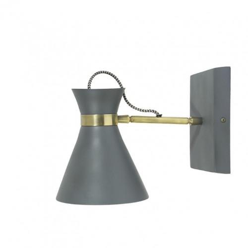 Focus Wall Lamp   Dark Grey