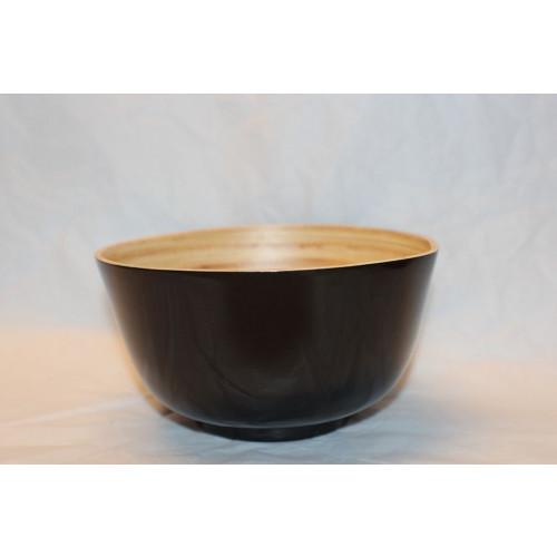 Bamboo Bowl Black