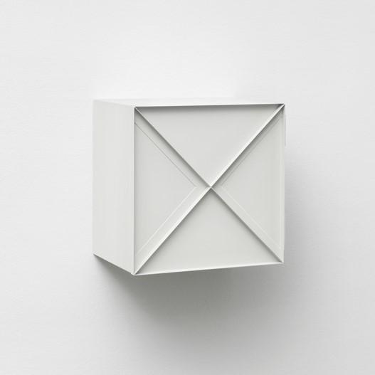Super Narrow Cabinet | White