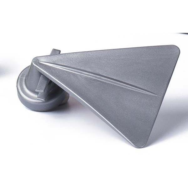 Magnetic Holder for brush or sponge with counter magnet-Grey