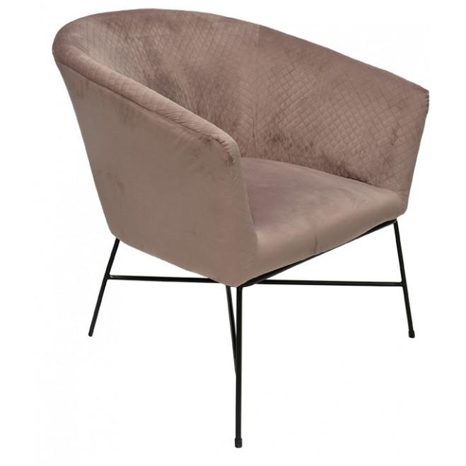 Lounge Chair Lady club   Pink