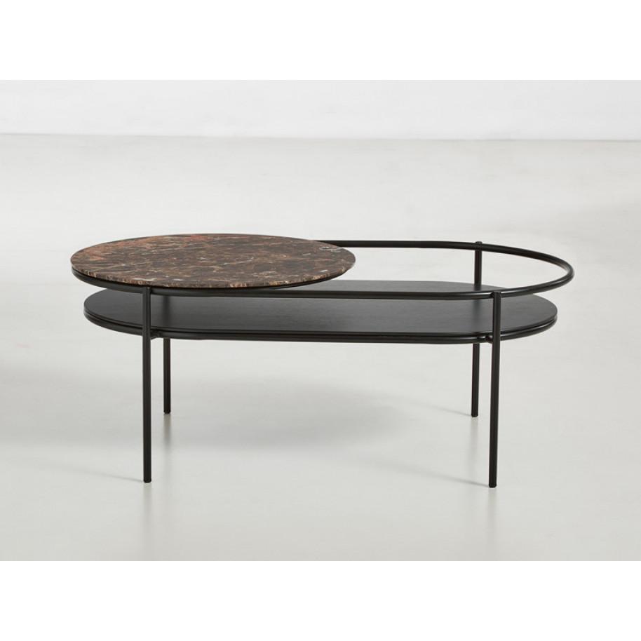 Coffee Table Verde Marble | Brown