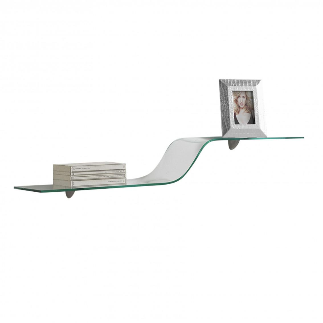 Wall Shelf Wave | Glass