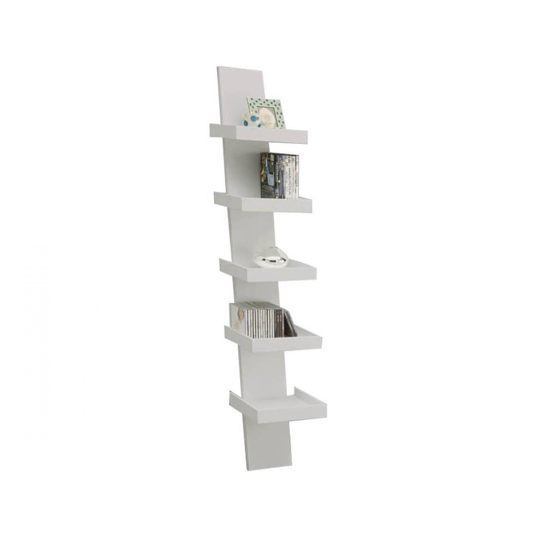 Bookcase Step | White