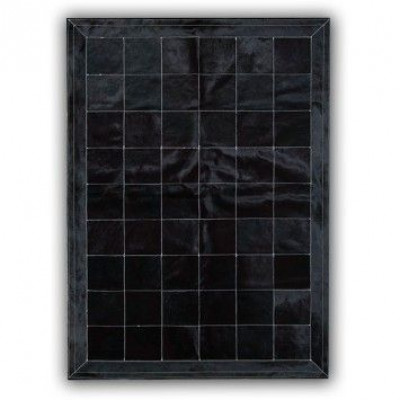 Leather Carpet | Black