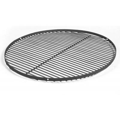 Rost für Feuerschale | Schwarzer Stahl | 80 cm