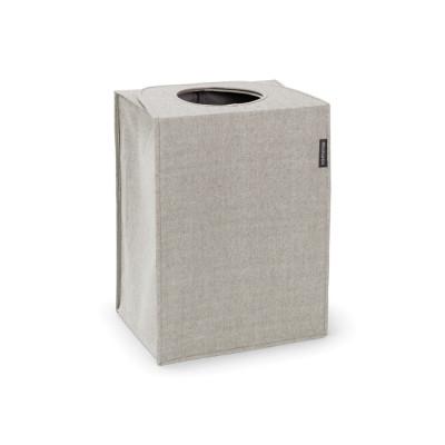 Faltbarer Wäschekorb / Sack 55 L | Grau