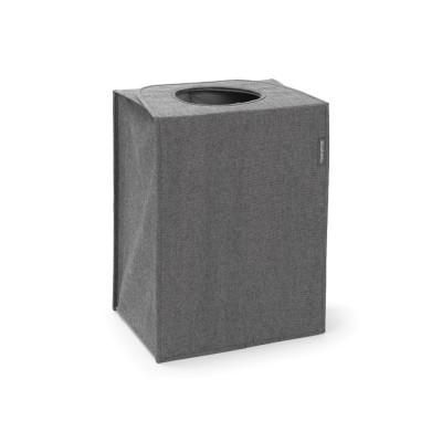 Faltbarer Wäschekorb / Sack 55 L | Dunkelgrau