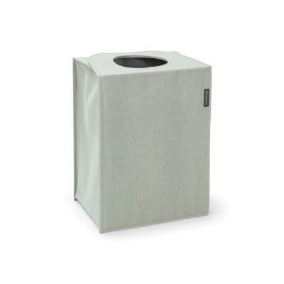 Faltbarer Wäschekorb / Sack 55 L | Grün